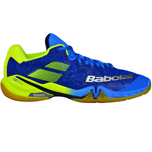 Babolat Shadow Tour Badminton Shoes Squash Indoor Sports Trainer blue 30S1801175