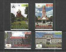 BARBADOS 2012 BARBADOS GARRISON SG,1388-1391 UM/M NH LOT 746A