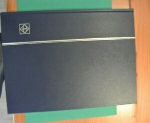 Stamp Stock Book (used) 16 Pages