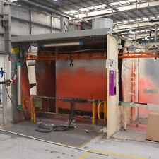 Doubled sided Open face Spray Booth ADELAIDE 3 x 2.4 x 2.4m - good condition