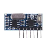 433MHz Superheterodyne Wireless Receiver Module Support 1527/2262 Encoder