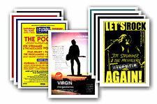 JOE STRUMMER  - Clash - 10 promotional posters - collectable postcard set # 1