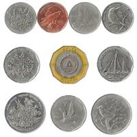10 DIFFERENT COINS FROM CAPE VERDE. AFRICAN CURRENCY: 5-100 ESCUDOS 1994