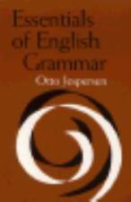 ESSENTIALS OF ENGLISH GRAMMAR - JESPERSEN, OTTO - NEW PAPERBACK BOOK