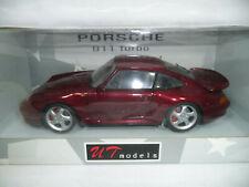 1996 PORSCHE 911 993 TURBO METALLIC RED 1:18 UT-MODELS 27811 VERY RARE