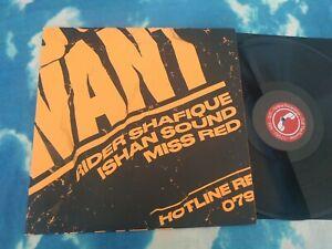 "Ishan Sound – A Wa Yu Want : Grime, Ragga, Dancehall RARE UK 12"" Single"