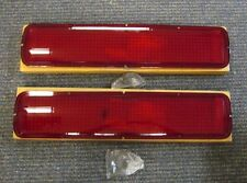 1968 NOS Shelby Taillight Lenses