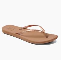 Reef Women's Escape Lux Metals Flip Flop Sandals - Copper