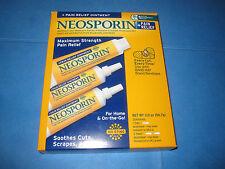 Neosporin Original Antibiotic Ointment + Pain Relief 3 pack 1/1 oz. 2/0.5 oz.