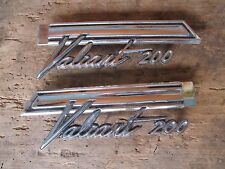1967 Plymouth Valiant 200 Quarter Panel Emblem PAIR