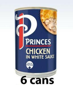 Princes/princess Succulent Chicken in White Sauce 392g x 6 tins