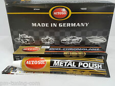 2x AUTOSOL Metal Polish - Edel Chrom-Glanz Metall Politur, 75ml (6,60€/100ml)