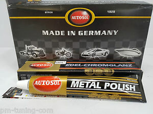 AUTOSOL metal polish - Edel Chromglanz Metall- & Chrom Politur Reinigung 75ml