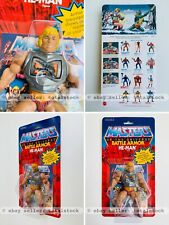 Masters Of The Universe BATTLE ARMOR HE-MAN SEALED ON CARD MOTU Commemorative