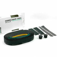 BIANCHI PU + EVA Nastro Manubrio Road Bike Handlebar Tape + End Plugs - Bicolor