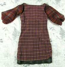Billy Reid Paid open sleeve Designer Dress plaid check adorable size 2