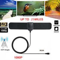 25 Mile Range Antenna TV Digital HD 4K Antena Digital Indoor HDTV Support 10  BC