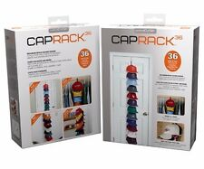 USED Cap Rack 36 Baseball Hat Holder Rack Organizer Storage Perfect  Clip Closet