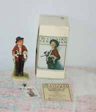 Vintage Norman Rockwell The Country Gentleman Pals figurine w Box, Tag, Coa Cg-3