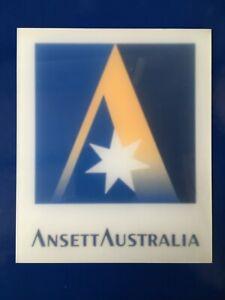 ANSETT AUSTRALIA  ACRYLIC SIGN