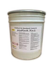 Containerlack Einschichtlack 3in1 Industrielack matt in RAL 7030 Steingrau 25kg
