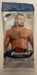 EXTENDED BASE SET CARD + #d/99 GREEN REFRACTOR HOT PACK 2020 Topps FINEST WWE SP