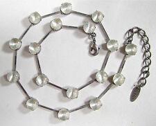 Runde Modeschmuck-Halsketten & -Anhänger im Collier-Stil aus Glas