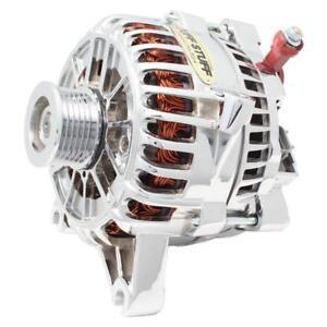 Tuff Stuff Alternator 8318D; 6G 200 Amp Chrome for 2004-06 F-150 4.6/5.4L MOD