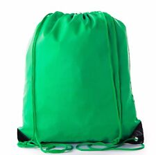 Mato & Hash Basic Cinch Sack Drawstring Pack Tote Promotion Back Pack Party Bag