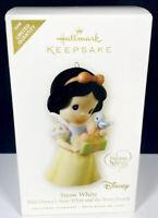 2008 Hallmark Disney Snow White Precious Moments Xmas Keepsake Ornament RARE NEW