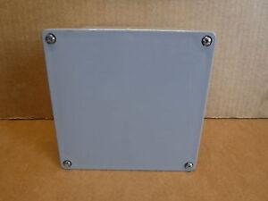 1 Box of 10 Carlon Nonmetallic Junction Box E987R 6x6x4 Electrical Enclosure