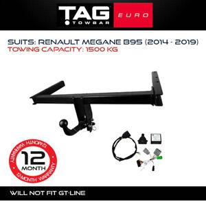 TAG Euro Towbar Fits Renault Megane 2014-2019 1500Kg Capacity 4x4 Exterior