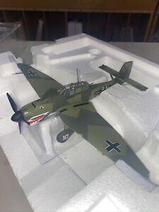 Vtg hobby master 1:48 air power series JU87 s2 AC German Model Plane