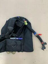 Men's DiveTek Scuba Diving Vest Black Size Small USA EUC 2