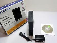 Netgear WNR3500L RangeMax 300 Mbps 4-Port Gigabit Wireless N Open-Source Router