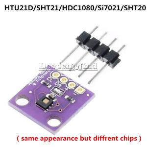 GY-213V HTU21D/SHT21/SI7021/HDC1080/SHT20 I2C Temperature&Humidity Sensor