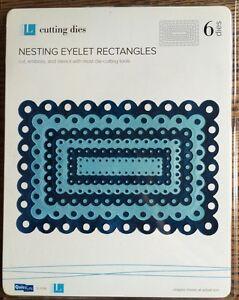 Lifestyle Crafts/Quickutz Nesting Eyelet Rectangles *New*