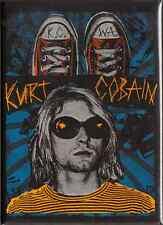 31067 Kurt Cobain Nirvana Sonnenbrille Chucks Grunge 90s Seattle Kühlschrankmagnet