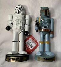 Vintage Star Wars Boba Fett Mandalorian Nutcracker Stormtrooper Lot Kurt Adler