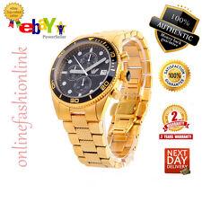 *NEW* Genuine Emporio Armani AR5857 Men's Gold Black Chronograph Watch RRP £399