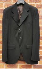 Dolce & Gabbana D&G Mens Black Blazer Jacket Wool Size IT52 UK 42 Large
