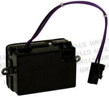 HVAC Blower Motor Resistor Front WVE BY NTK 4P1596