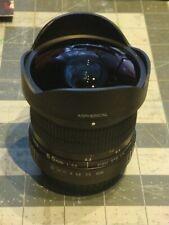 Opteka 6.5mm Wide Angle Fisheye Lens for Canon
