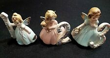 Lot (3) Josef Original Angel Birthday Figurines With Labels (1-2-3)