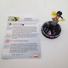 Heroclix Guardians of the Galaxy set Shriek #044 Rare figure w/card!