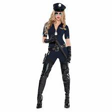 Sexy Stop Traffic Police Woman Cop Uniform Adult Womens Fancy Dress Costume
