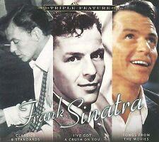 Triple Feature [Digipak] by Frank Sinatra (CD, Nov-2009, 3 Discs, Sony Music Ent