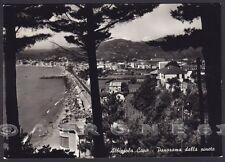 SAVONA ALBISSOLA 53 CAPO - PINETA Cartolina FOTOGRAFICA viaggiata 1959