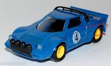 SOLIDO voiture LANCIA STRATOS bleu de 1979 Kleines Auto Italian miniature car