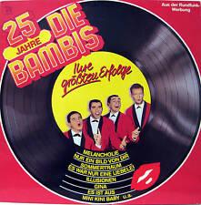LP /  Die Bambis – 25 Jahre Die Bambis  / AUSTRIA PRESSUNG / RAR /